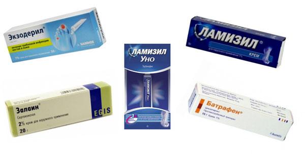 противогрибковые средства для лечения дерматофитии