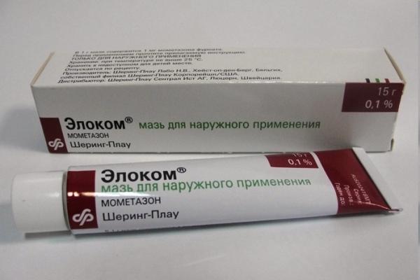мазь элоком для лечения контактного дерматита