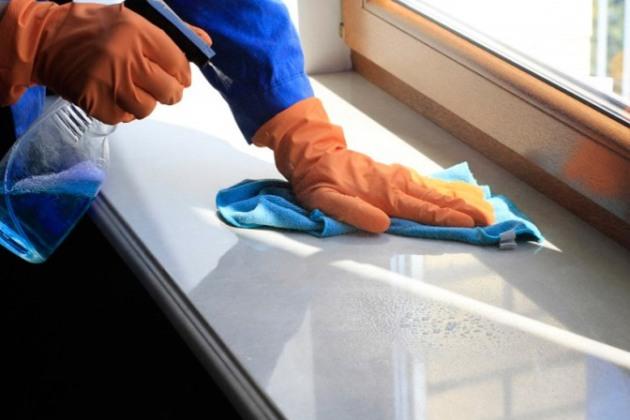 для профилактики дисгидроза пользоваться бытовой химией нужно в перчатках