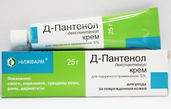 крем депантенол для лечения перианального дерматита