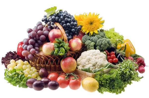 при почесухе нужно есть много фруктов и овощей