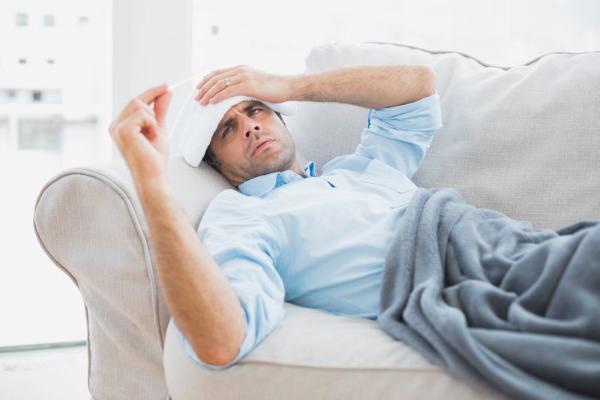 Постельный режим - элемент лечения краснухи у взрослых