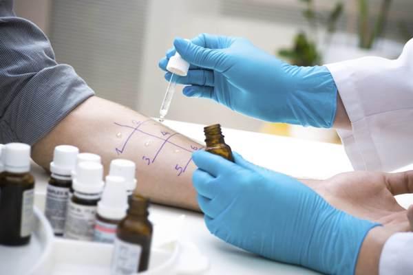 диагностика аллергической сыпи