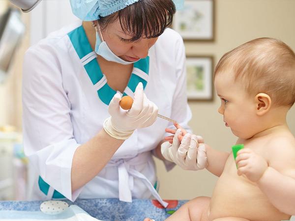 диагностика контагиозного молюска у детей