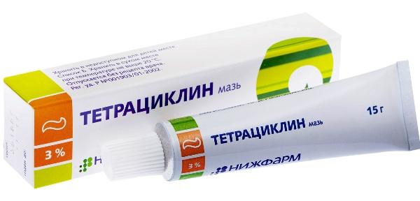 тетрациклиновая мазь для лечения панариция в домашних условиях