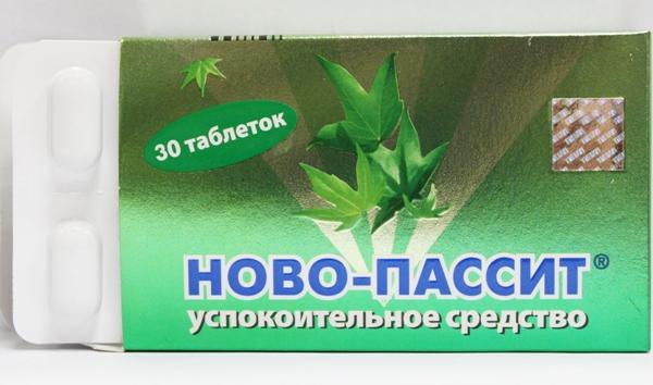 Новопассит - препарат для лечения нервной крапивницы